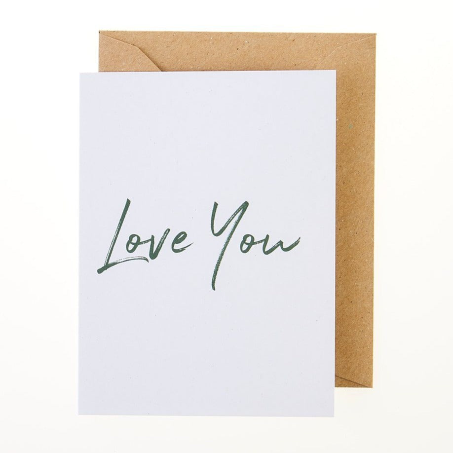 Love You Card - Greeting Card - BoxTree
