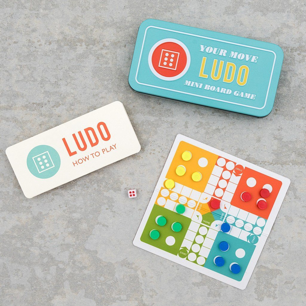Mini Magnetic Ludo Game - Gift - BoxTree