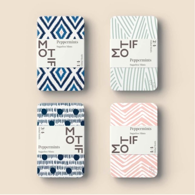 Motif Mints: Pink & Blue Edition - Gift - BoxTree