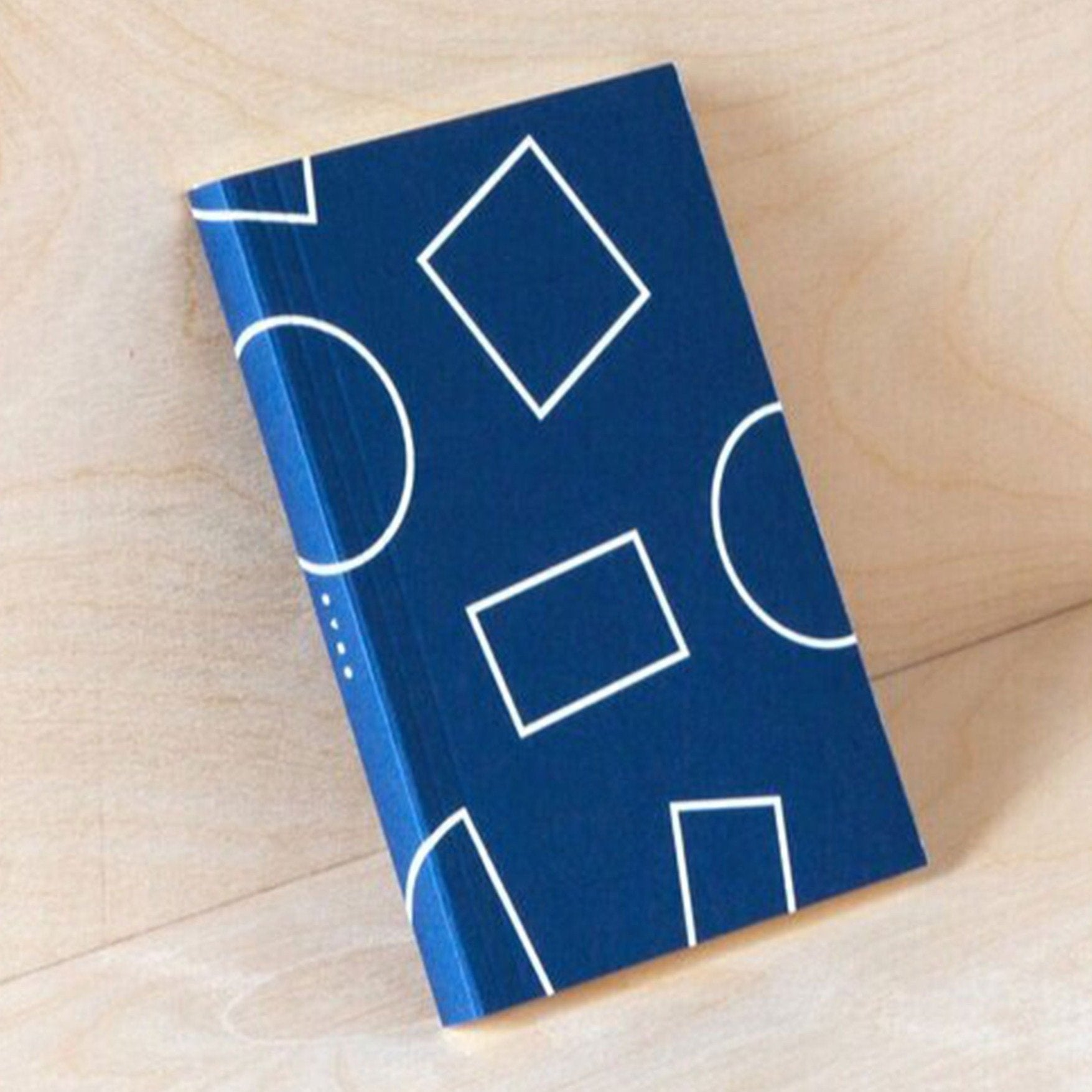 Ola Studio | Navy Shapes LayFlat Weekly Planner A6 | BoxTree | Send a Gift