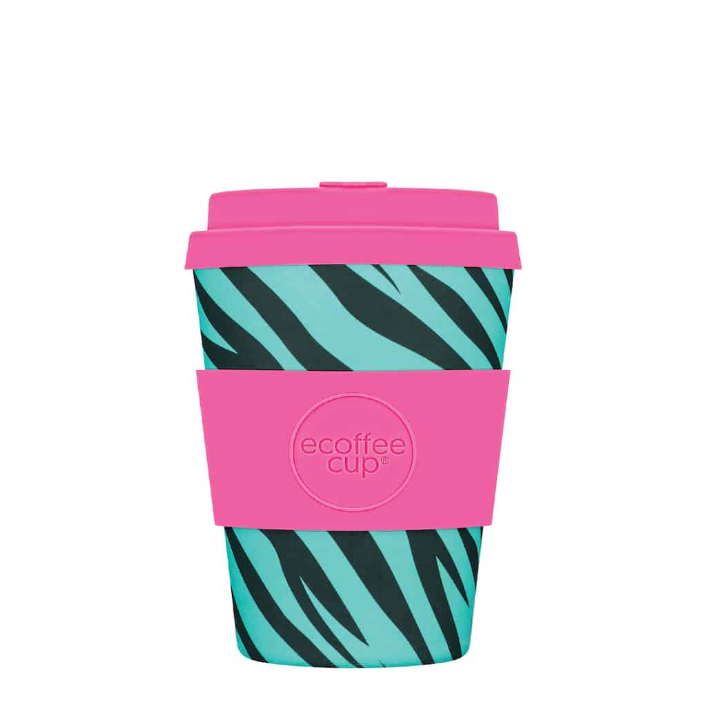 Neon Zebra Bamboo Cup - Single Gift - BoxTree