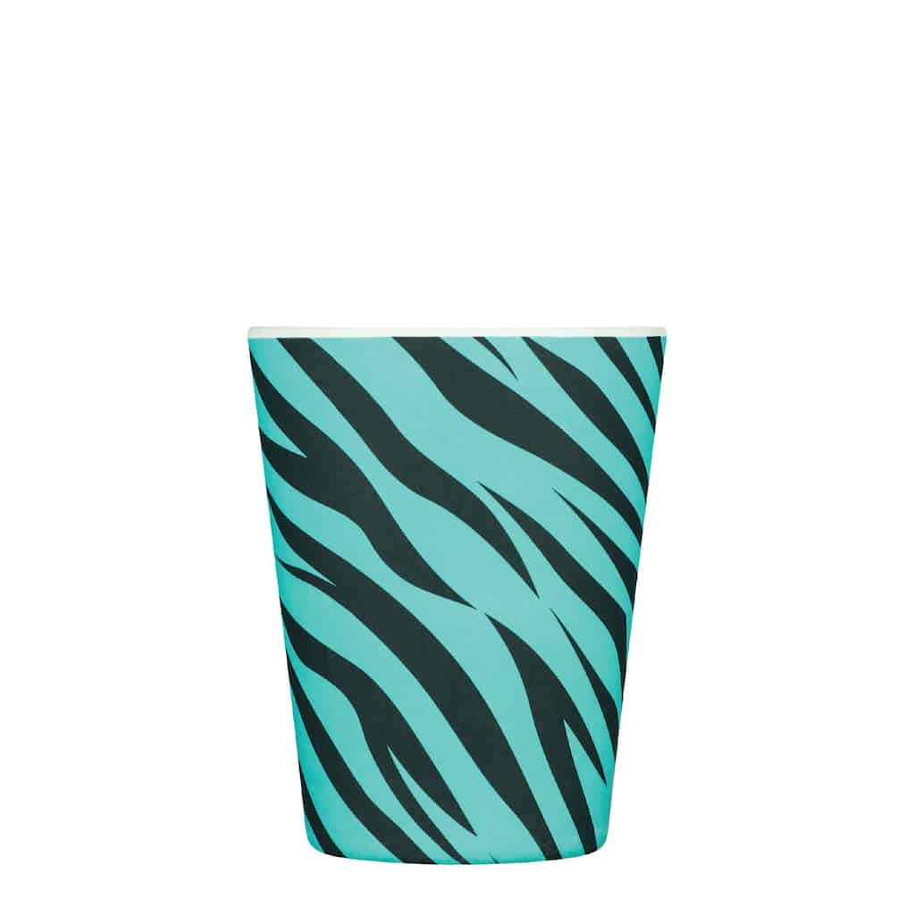 ECoffee | Neon Zebra Bamboo Cup | BoxTree | Send a Gift