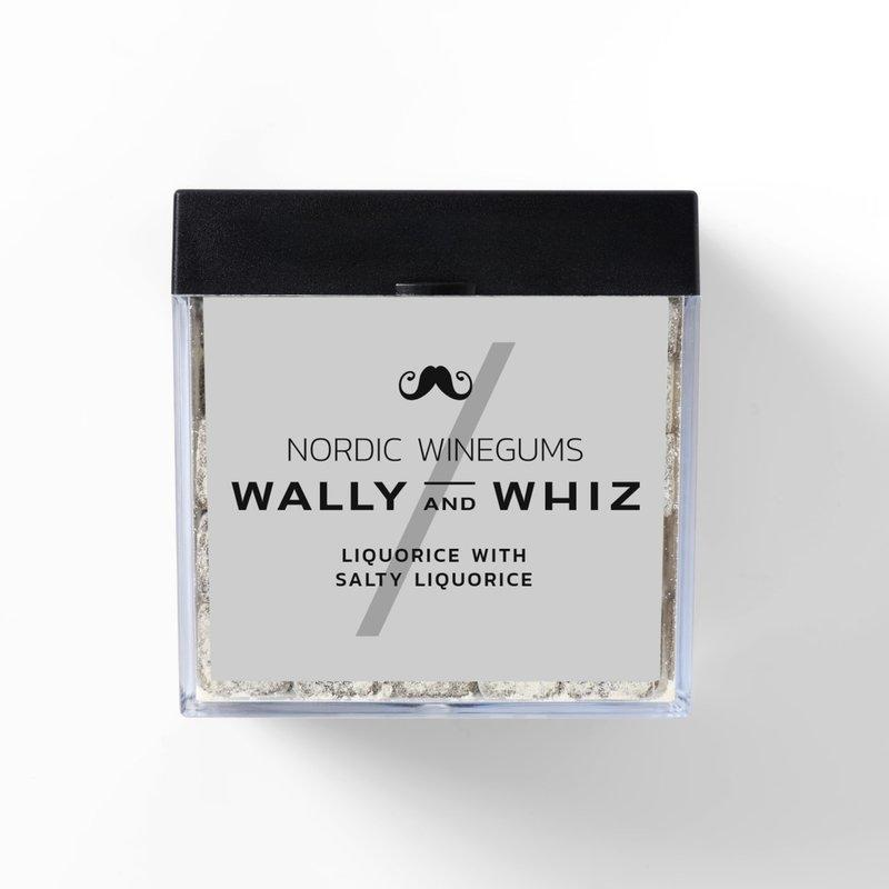 Wally & Whiz | Liquorice Nordic Wine Gums | BoxTree | Send a Gift