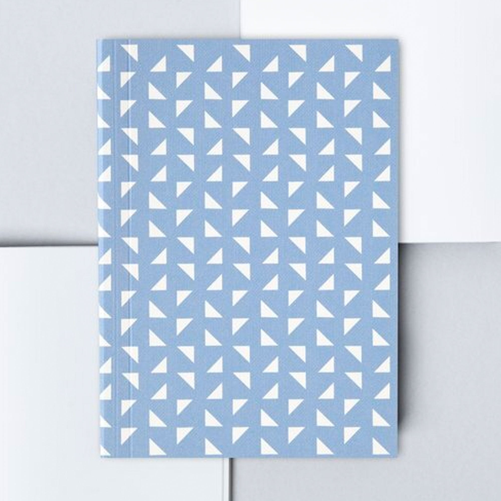Ola Studio | Blue Massi Print LayFlat Notebook A6 | BoxTree | Send a Gift