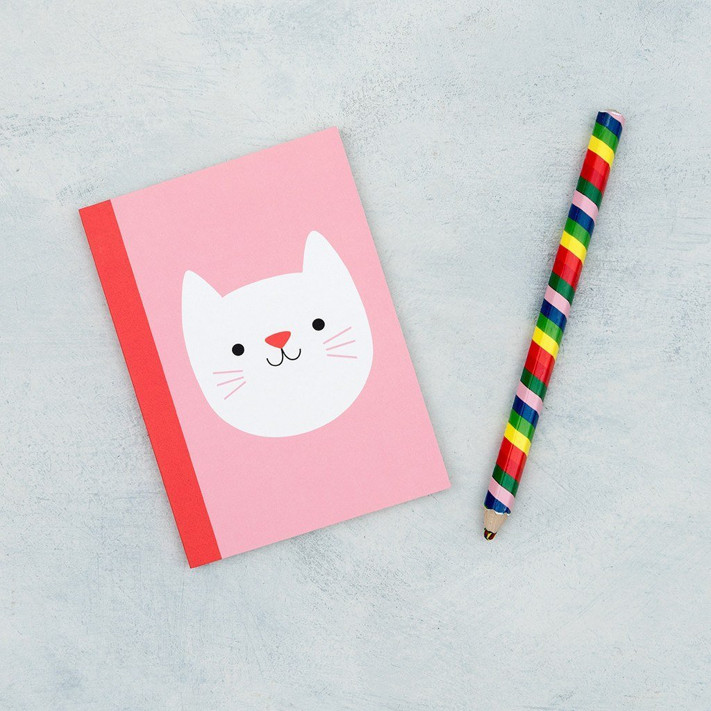 BoxTree Kids | Pink Cat Notebook | BoxTree | Send a Gift