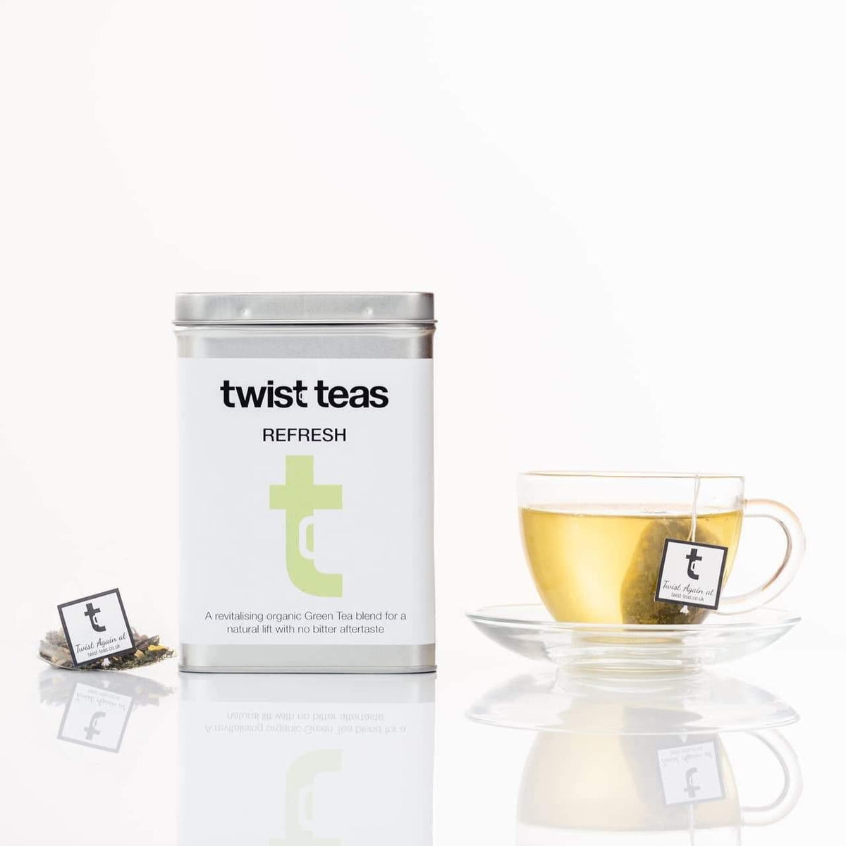 Twist Teas | 'Refresh' Tea Caddy | Blends with Benefits! | BoxTree | Send a Gift