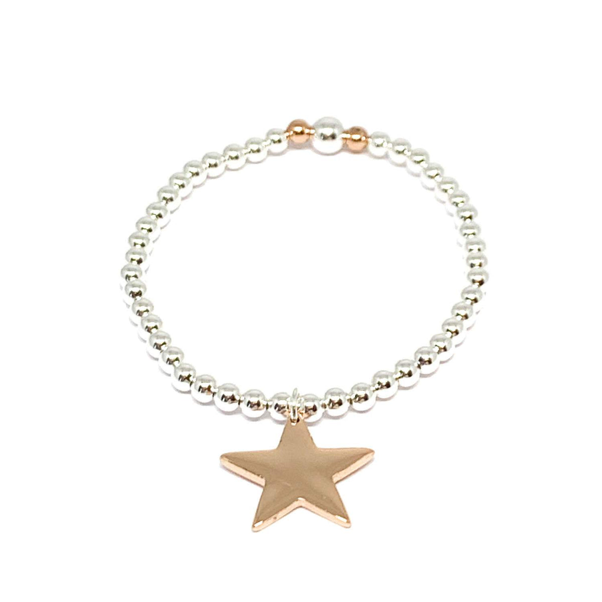 Rose Gold Star Bracelet - Gift - BoxTree