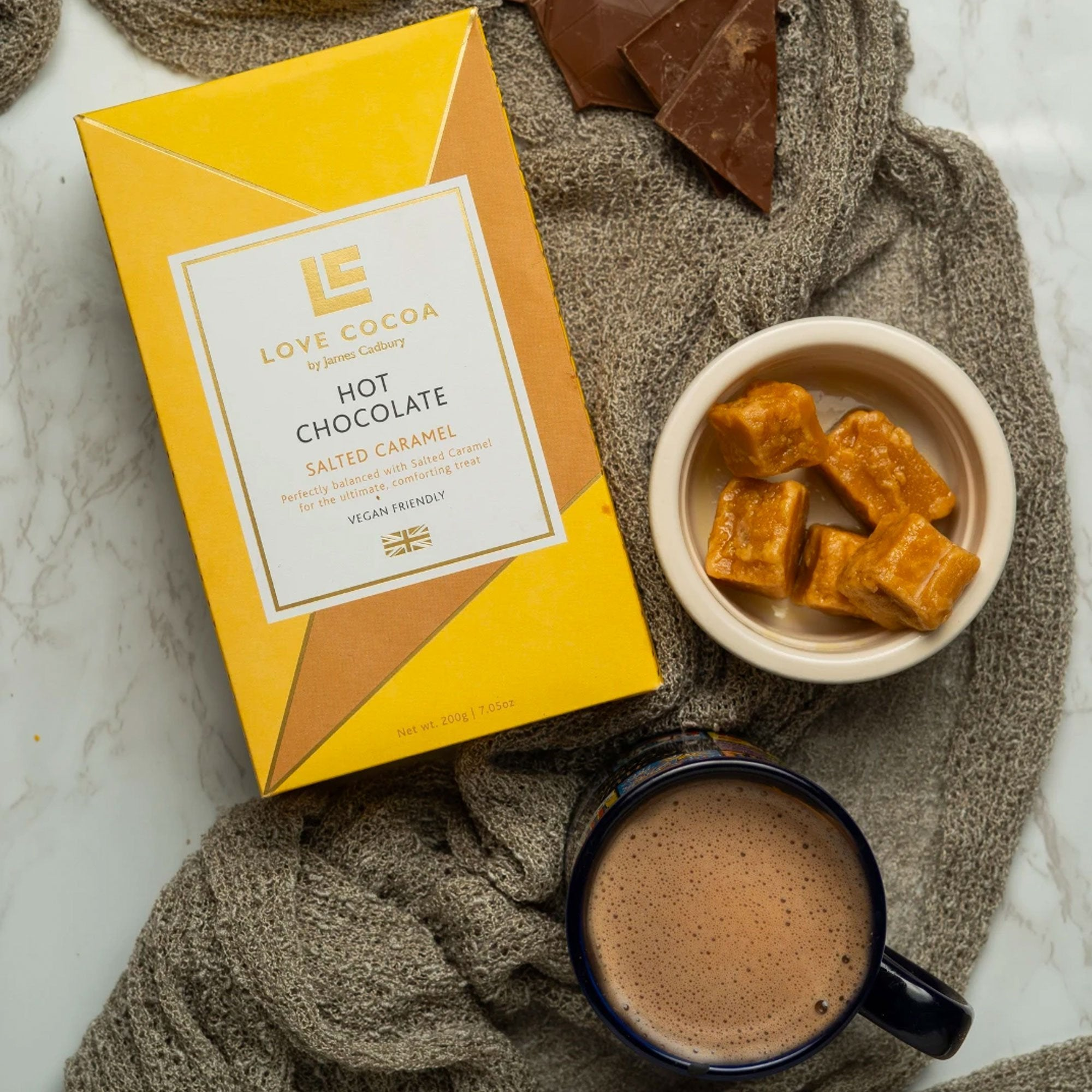 Love Cocoa | Salted Caramel Hot Chocolate | BoxTree | Send a Gift