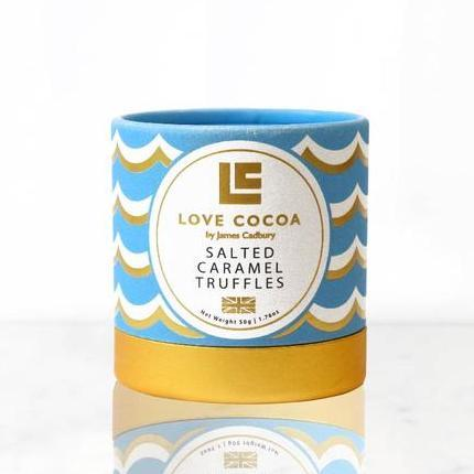 Love Cocoa | Salted Caramel Truffles | BoxTree | Send a Gift