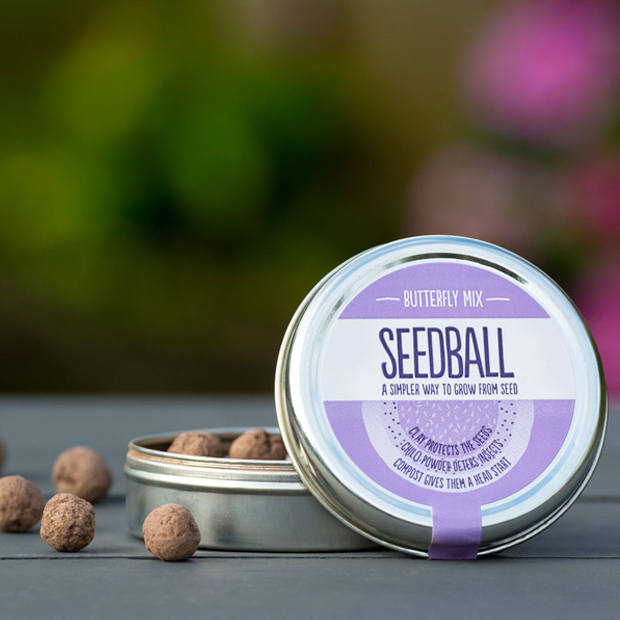 Seedball | Butterfly Mix Seedball Gift | BoxTree | Send a Gift