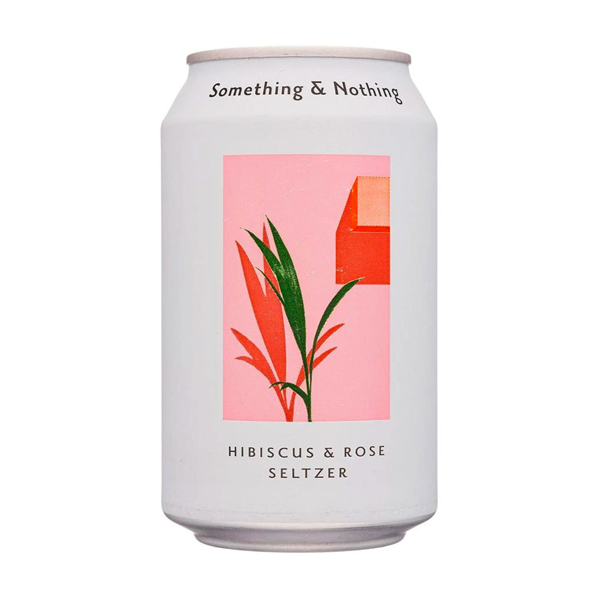 Something & Nothing | Hibiscus & Rose Seltzer Can | BoxTree | Send a Gift