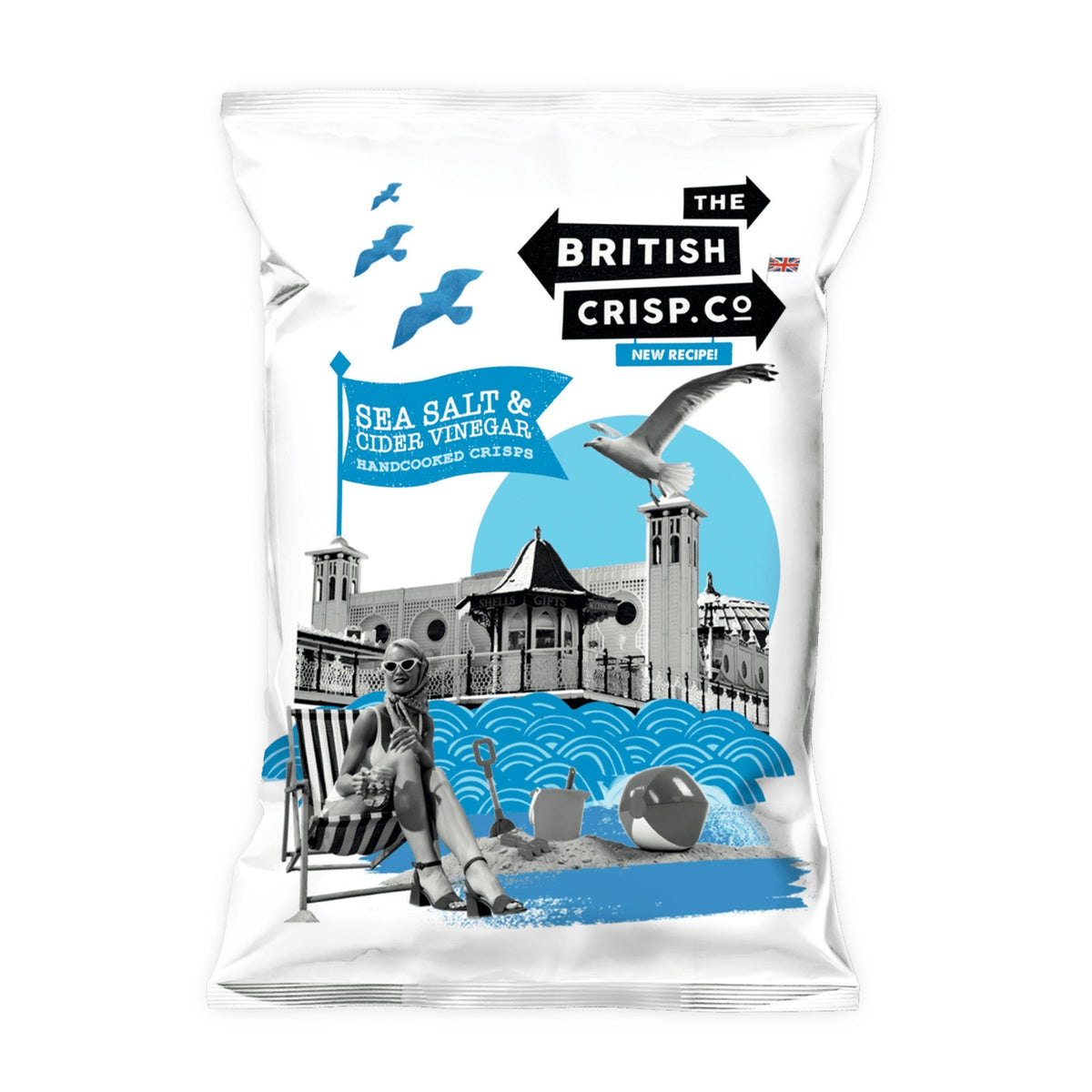 The British Crisp Co | Sea Salt & Vinegar Crisps | BoxTree | Send a Gift