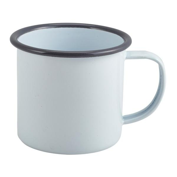 White Enamel Mug - Single Gift - BoxTree