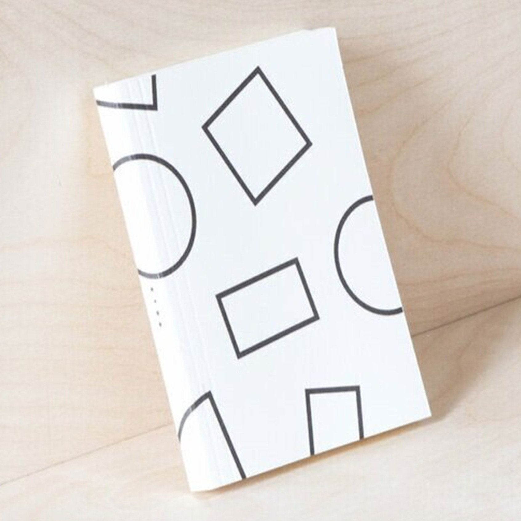 Ola Studio | White Shapes LayFlat Weekly Planner A6 | BoxTree | Send a Gift
