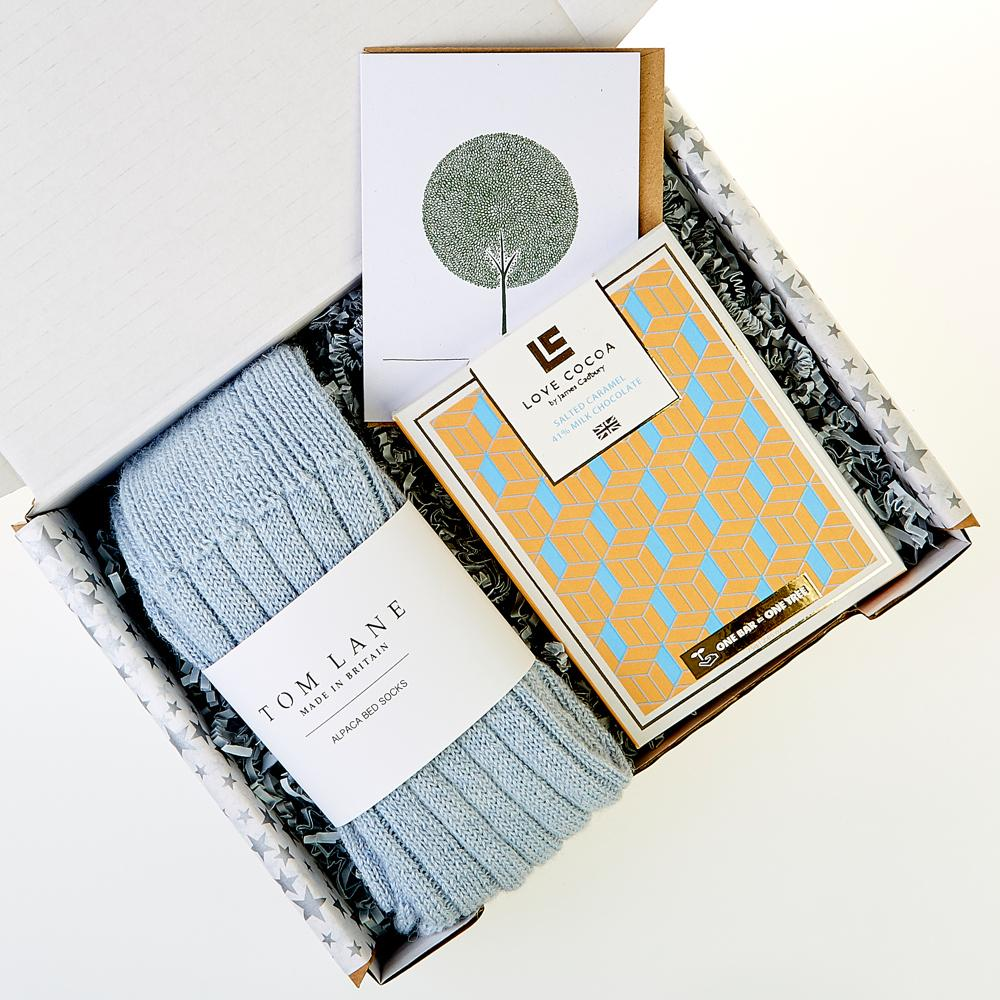 Winter Luxe // Blue - Gift Box - BoxTree