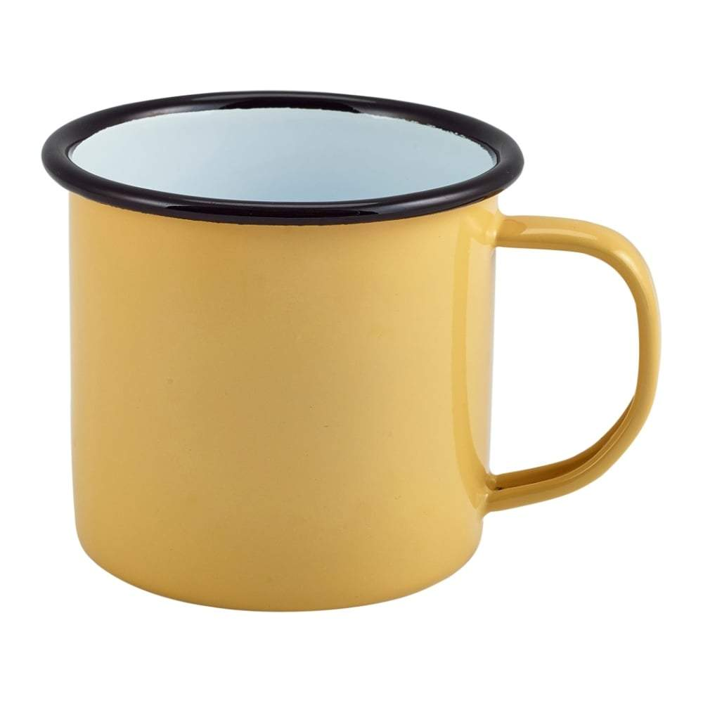 BoxTree | Yellow Enamel Mug | BoxTree | Send a Gift
