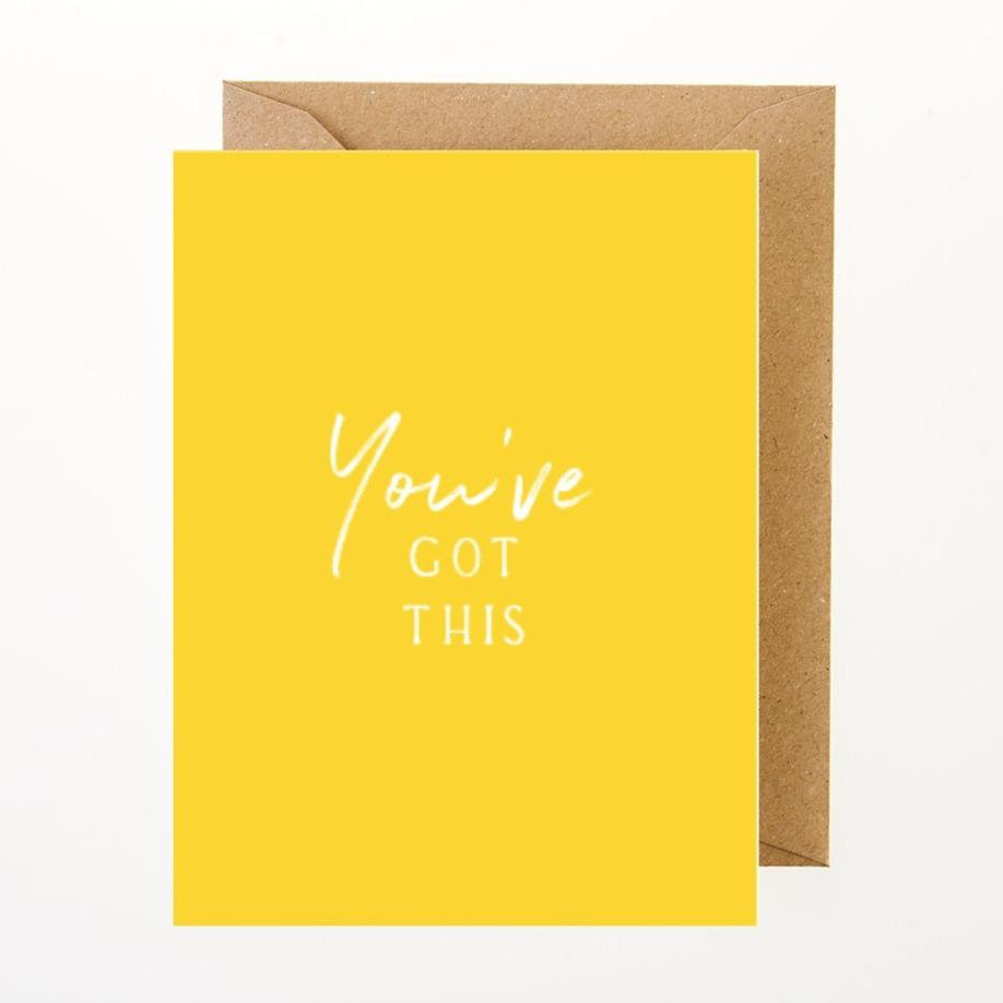 You've Got This Card - Greeting Card - BoxTree