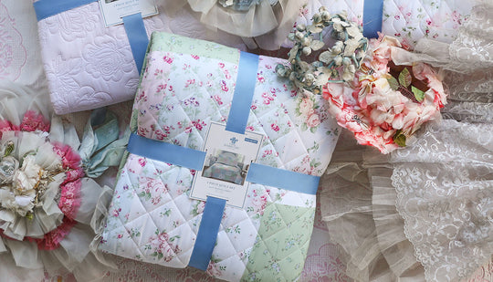 Simply Shabby Chic bedding at Walmart