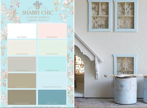 Shabby Chic Colors For Walls : Palette for the soul u rachel ashwell shabby chic couture