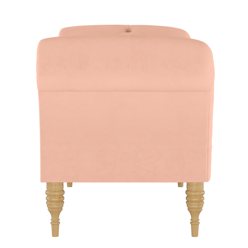 Shabby Chic Furniture - Savannah Tufted Chaise Lounge - More Colors
