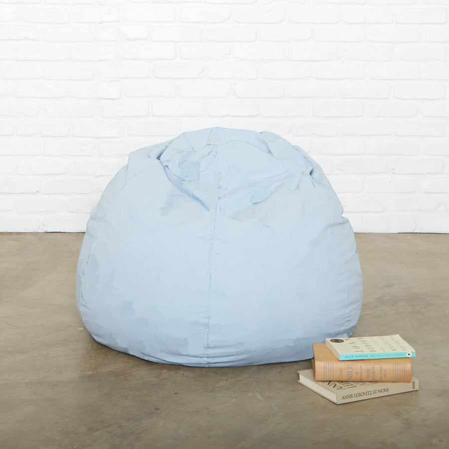 Blue Chino Beanbag by Rachel Ashwell