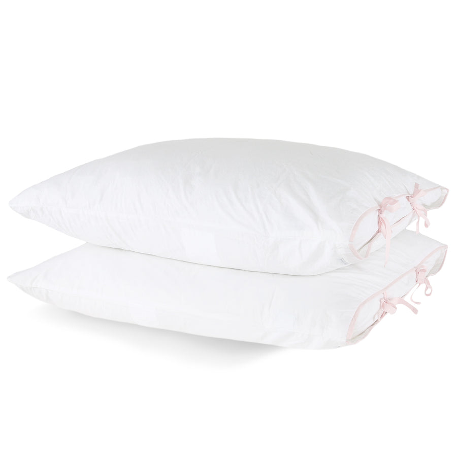 30% Capri Bedding with Contrast Tie - Pink