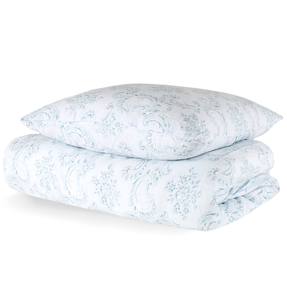 30% OFF Dusty Blue Bedding