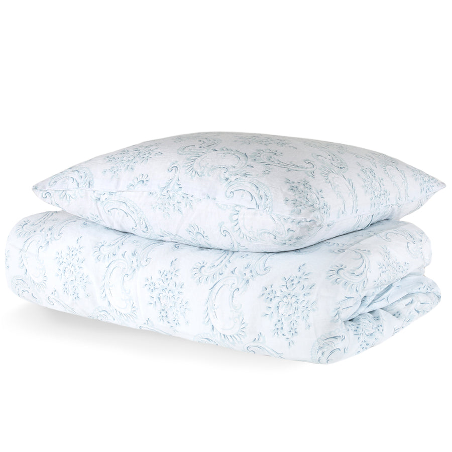 50% OFF Dusty Blue Bedding