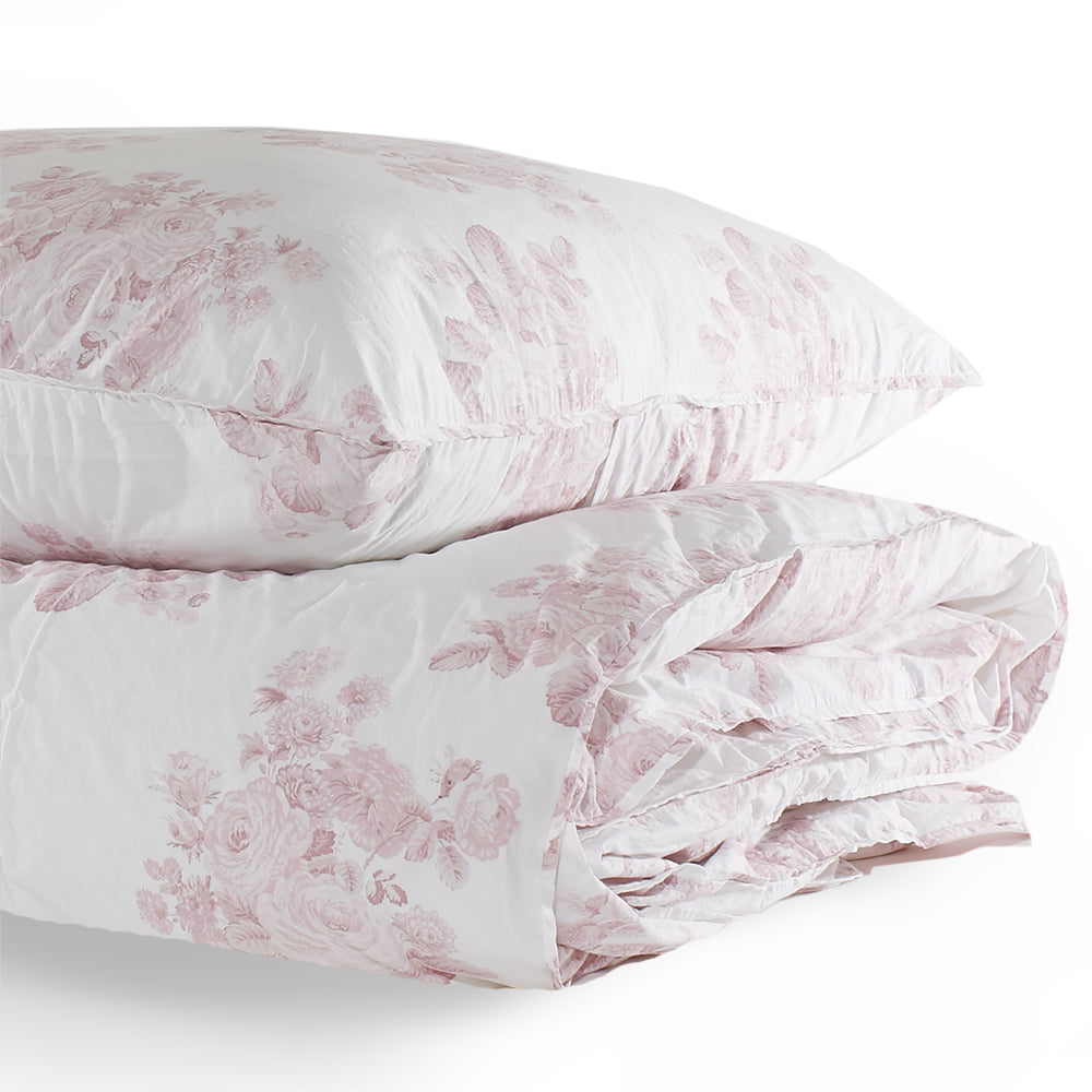 Shadow Rose Pink Bedding Collection