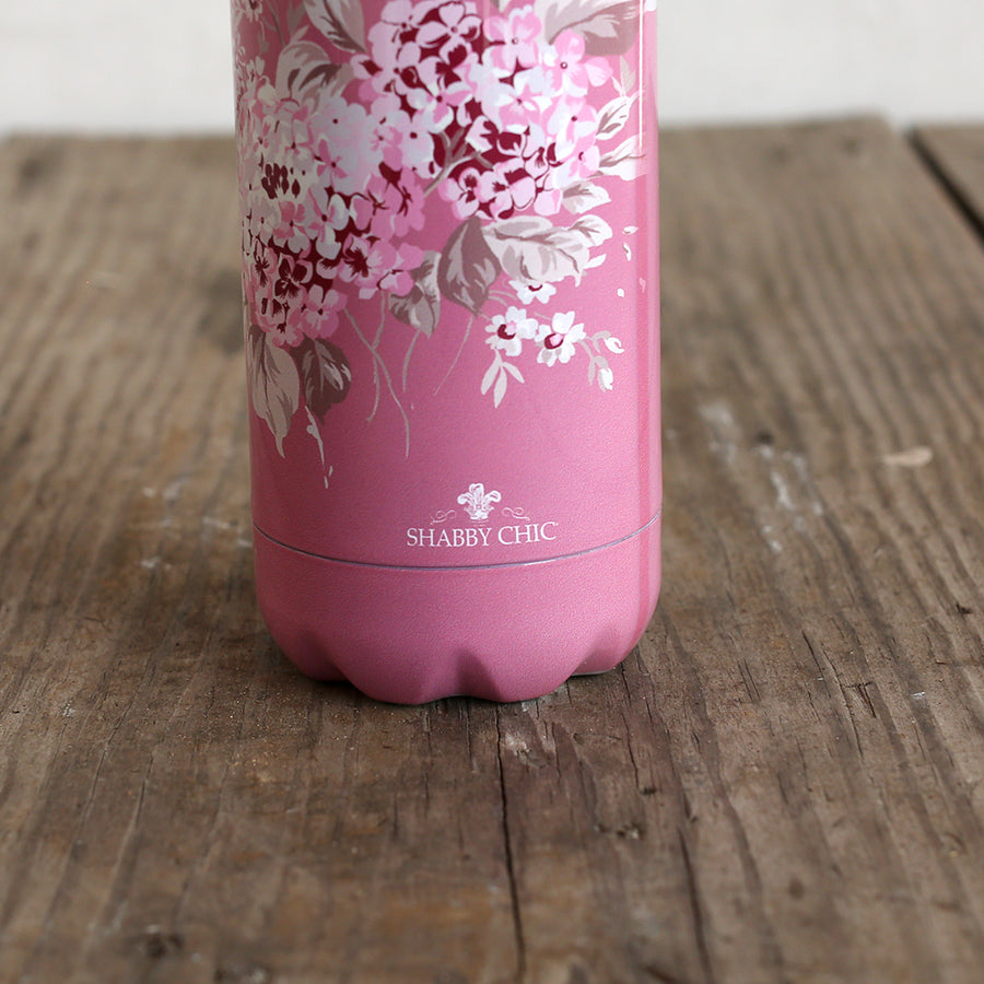 Shabby Chic Water Bottle - Berry Bloom