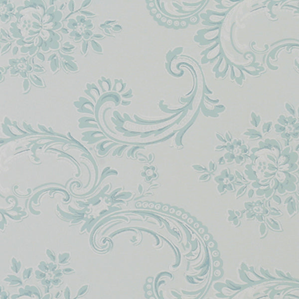 Rachel Ashwell Wallpaper - Boudoir Beauty Blue