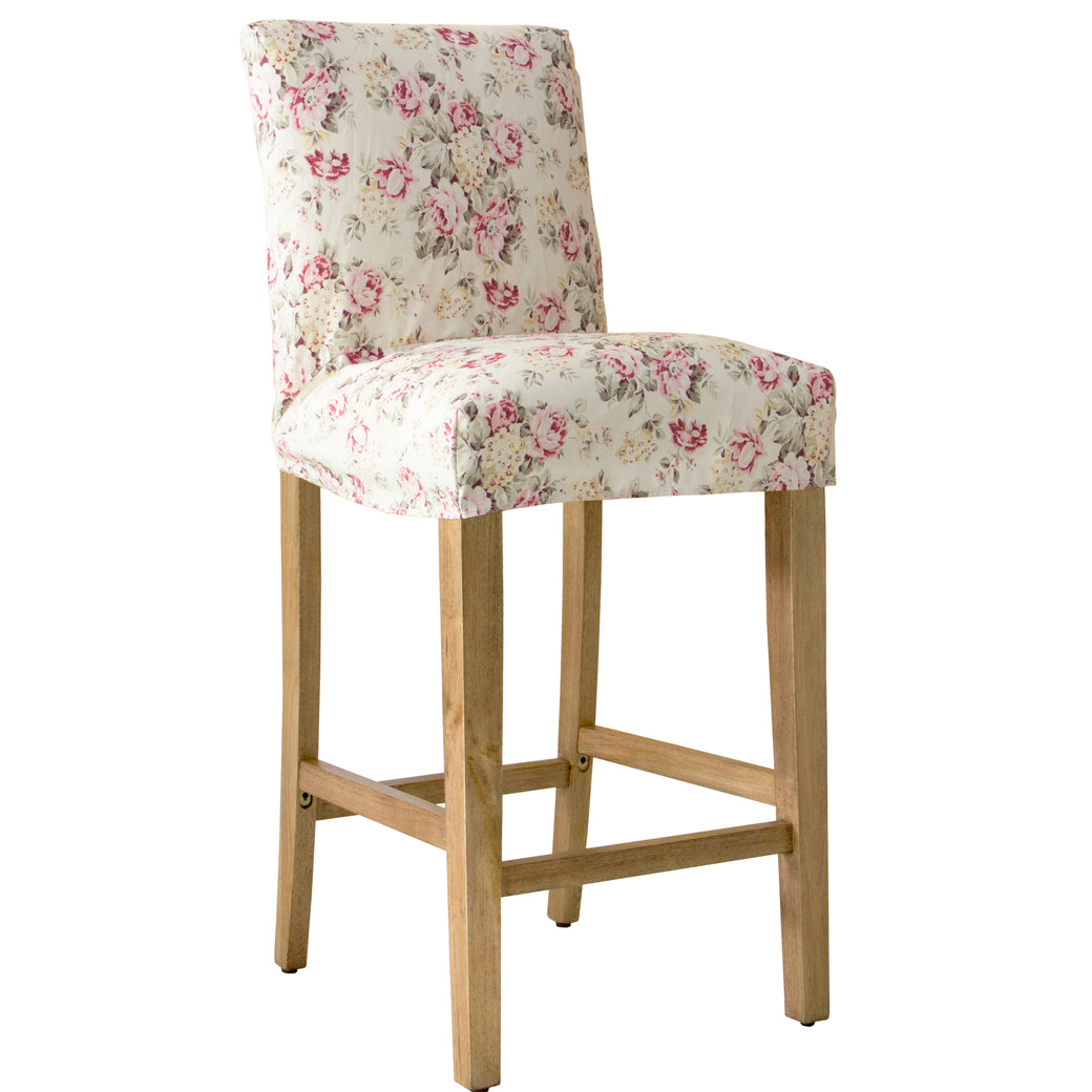 Astounding Shabby Chic Furniture Swallow Slipcover Bar Stool More Colors Download Free Architecture Designs Lukepmadebymaigaardcom