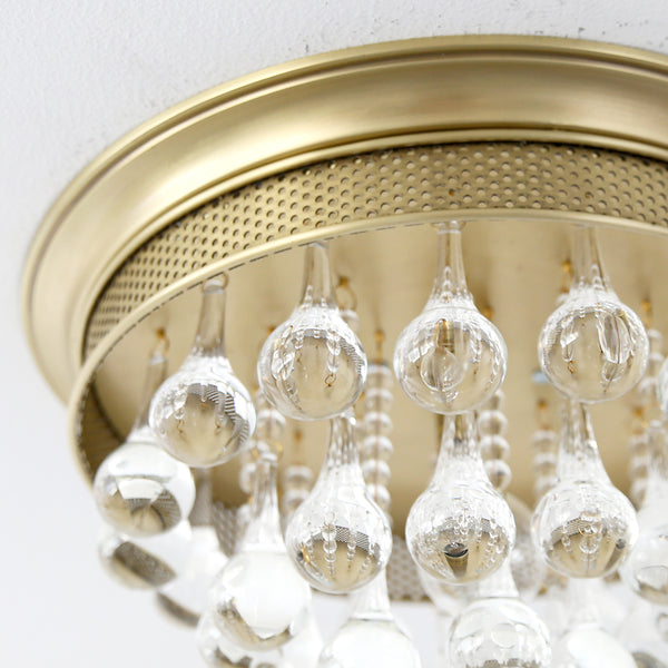 Crystal Drop Ceiling Mount Light Rachel Ashwell Shabby