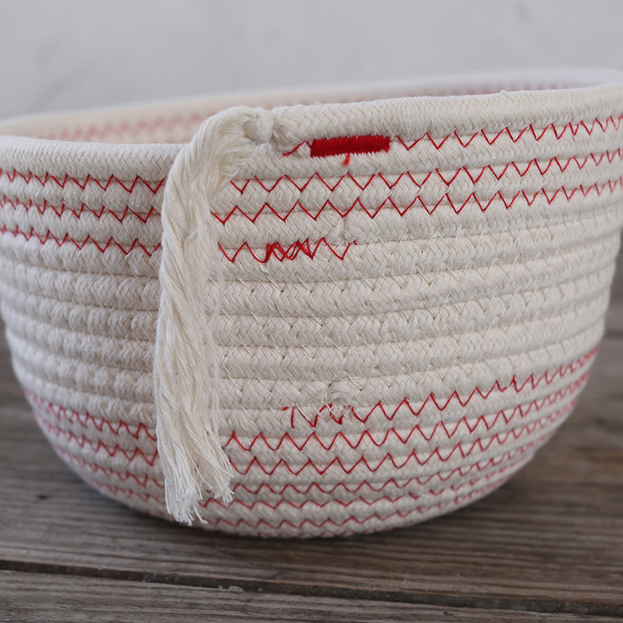Rope Baskets - Set of 3