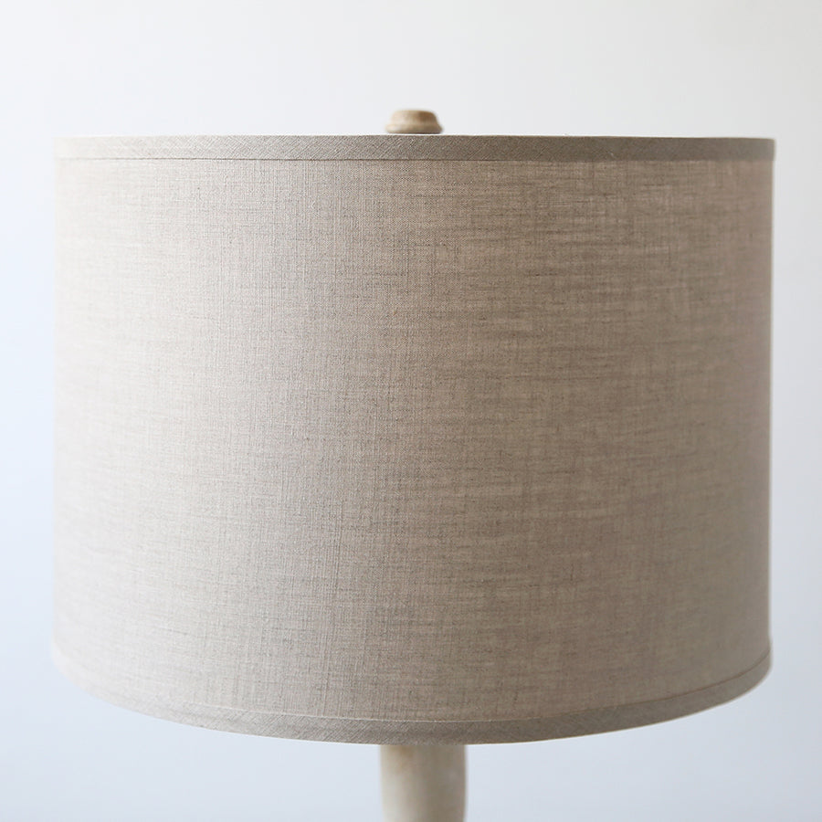 Cybil Whitewash Floor Lamp