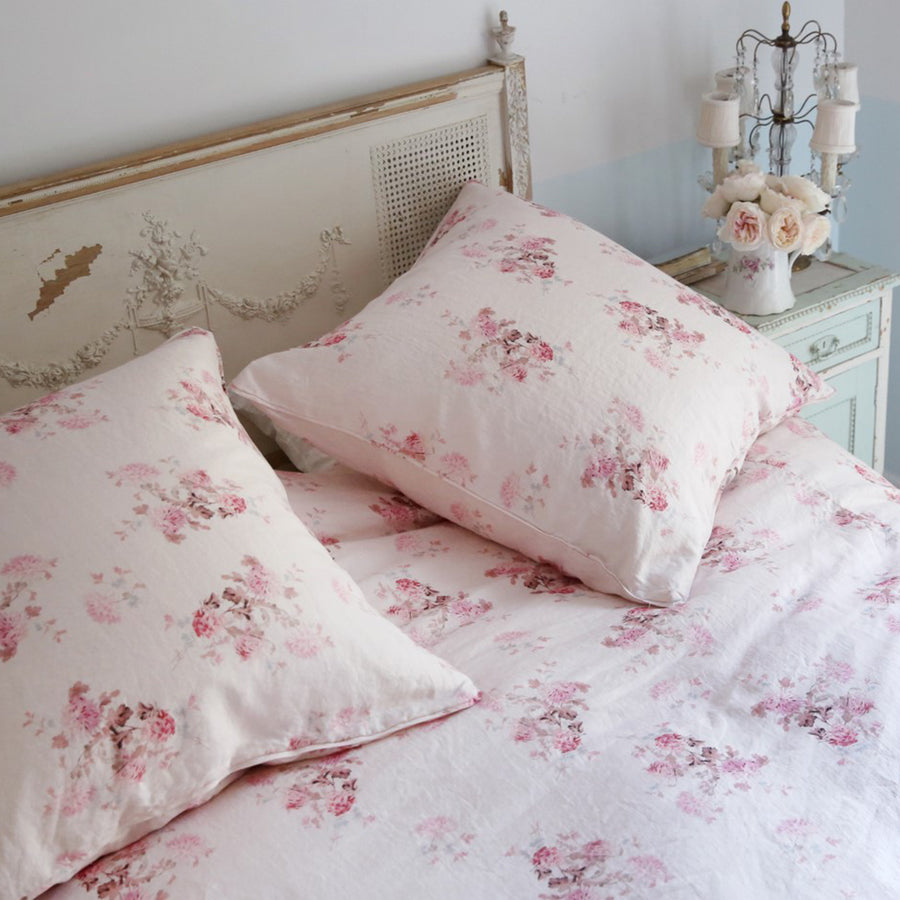 Limited Quantities - Dancing Dahlia Pink Bedding