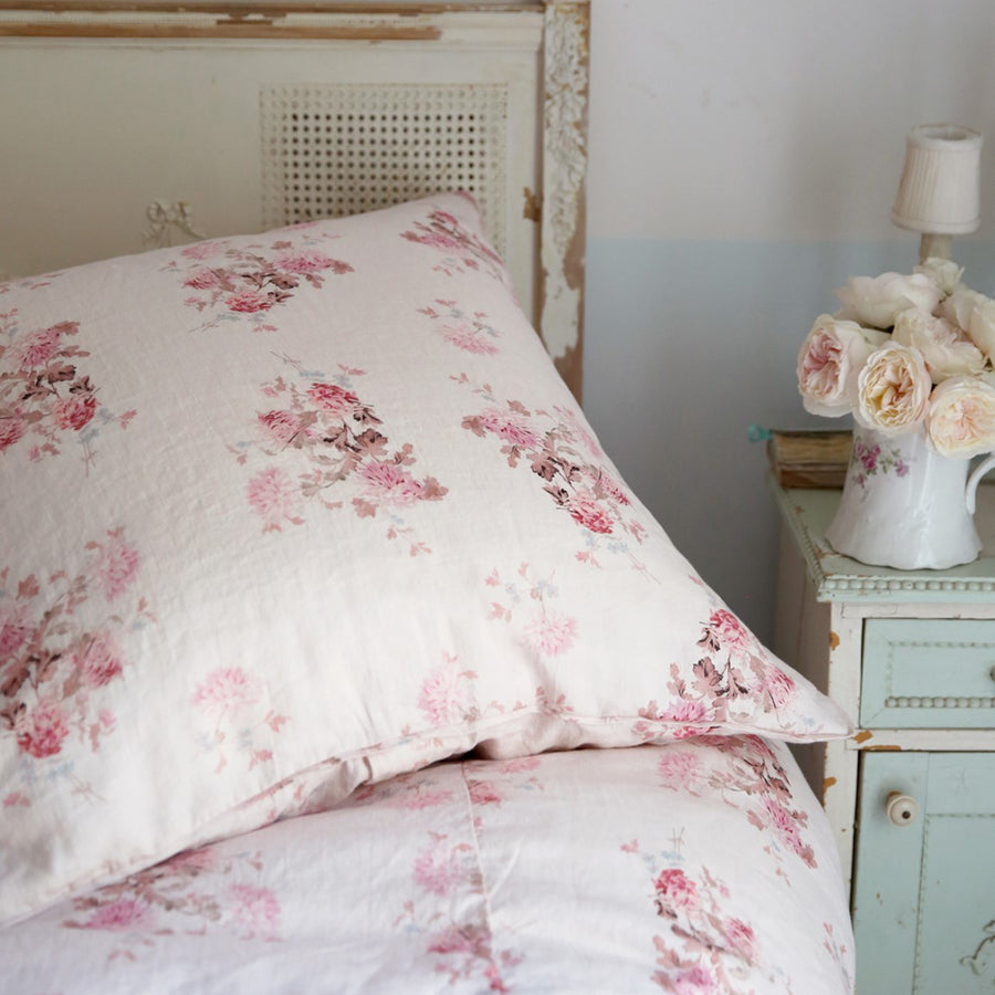 Dancing Dahlia Pink Bedding by Rachel Ashwell