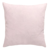 Pink Floral Embroidered Pillow