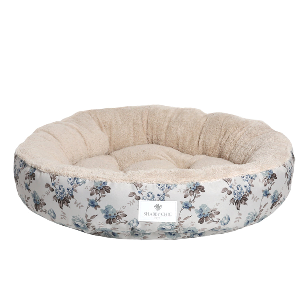 Shabby Chic Pet Bed Collection - Blue Beauty Berry