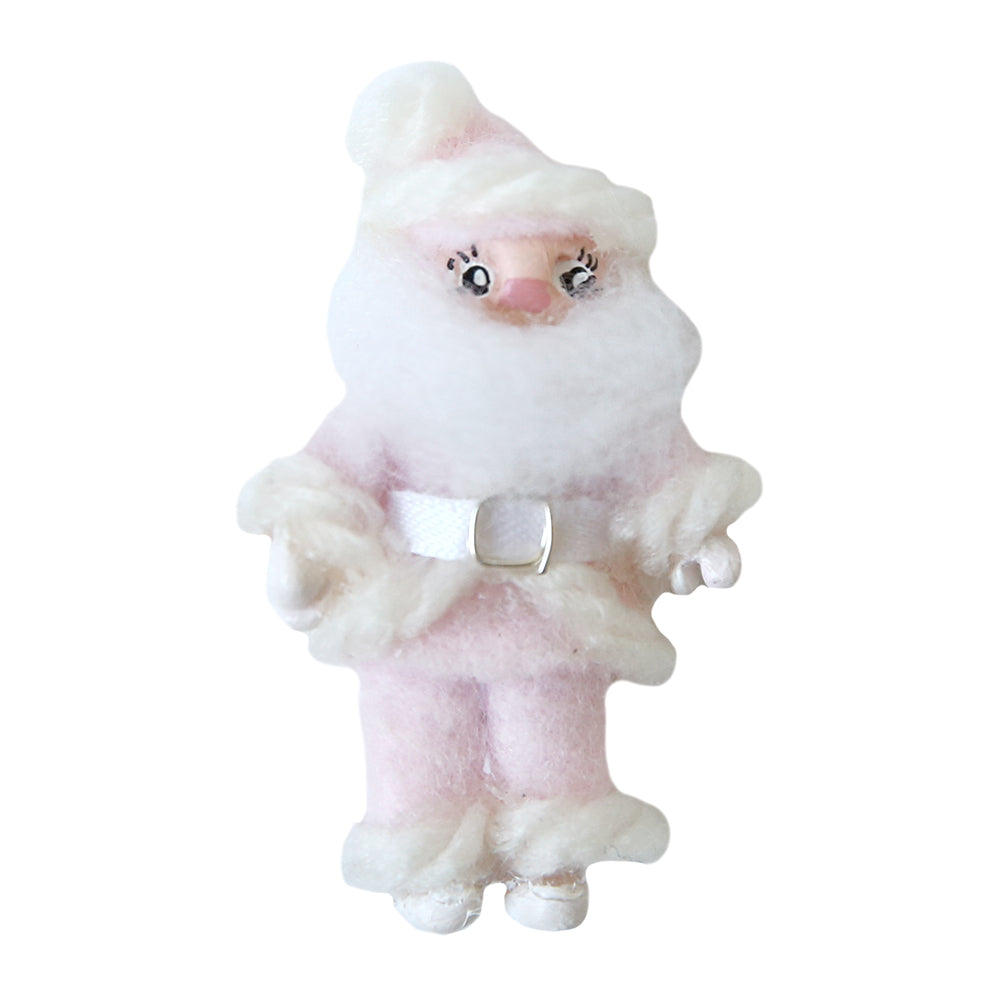 Dollhouse Furniture - Tiny Pink Santa