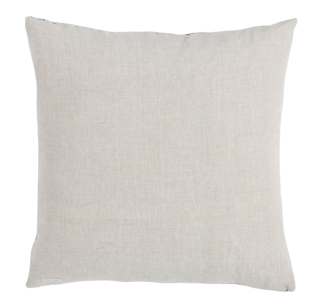 Blue Tonal Damask Pillow