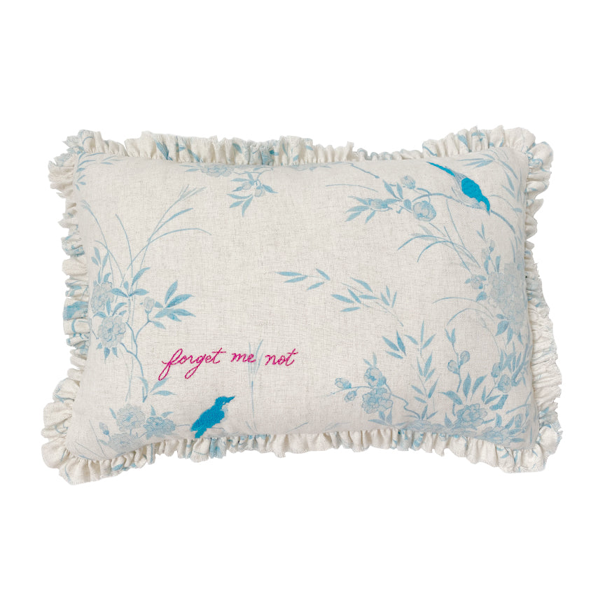 Forget Me Not Pillow by Rachel Ashwell