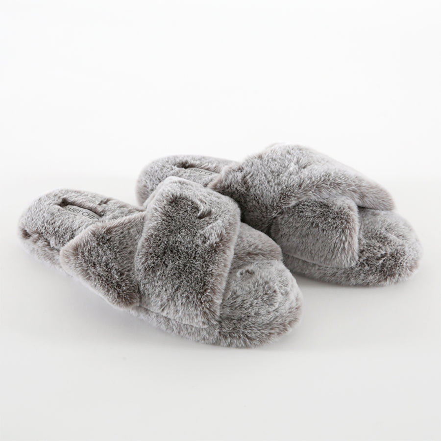 20% OFF Furry X Slipper-Grey