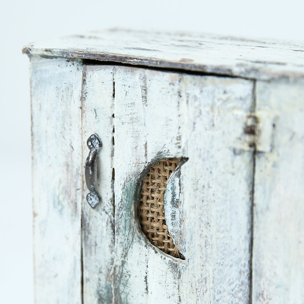 Dollhouse Furniture: Half Moon Cupboard