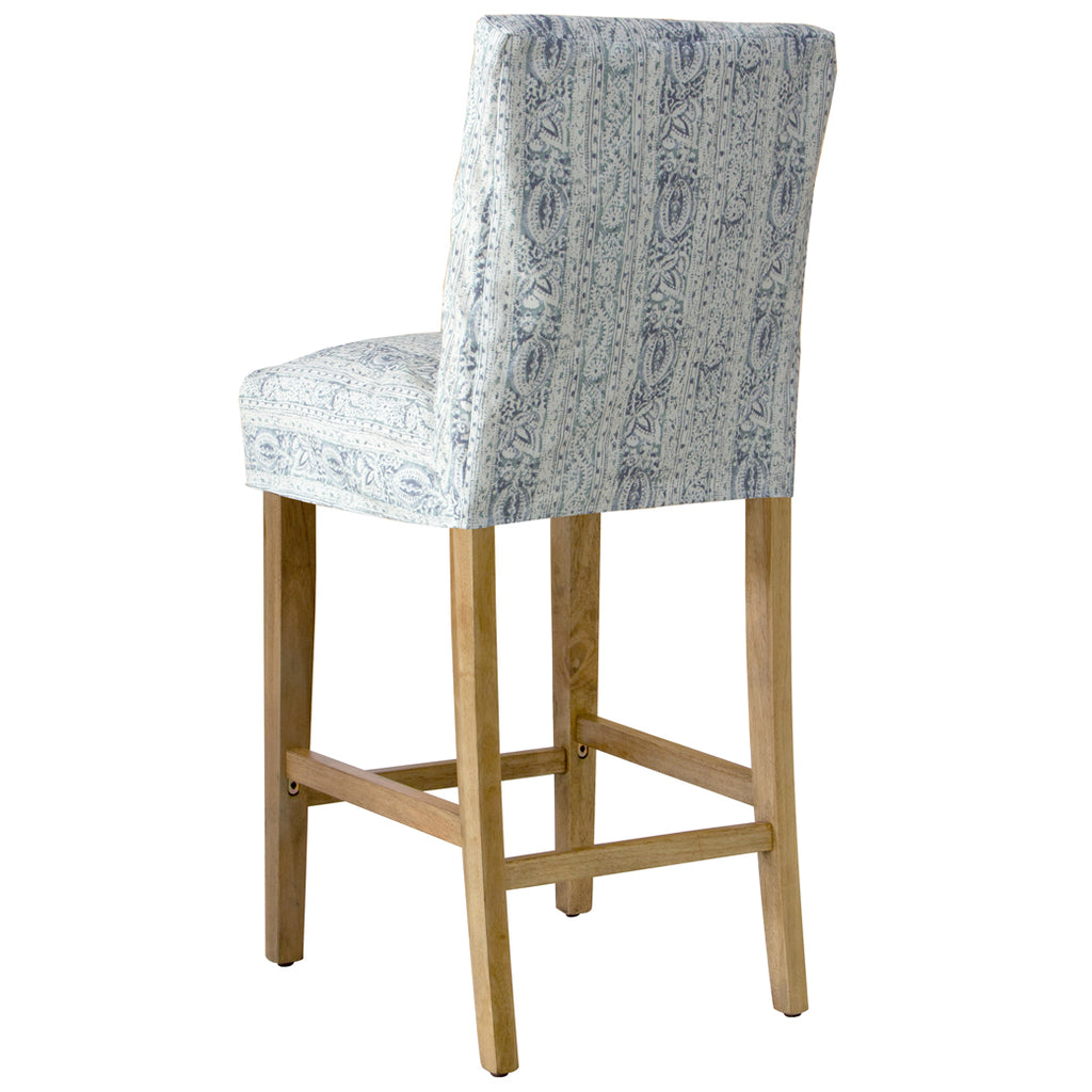 Shabby Chic Furniture - Swallow Slipcover Bar Stool - More Colors