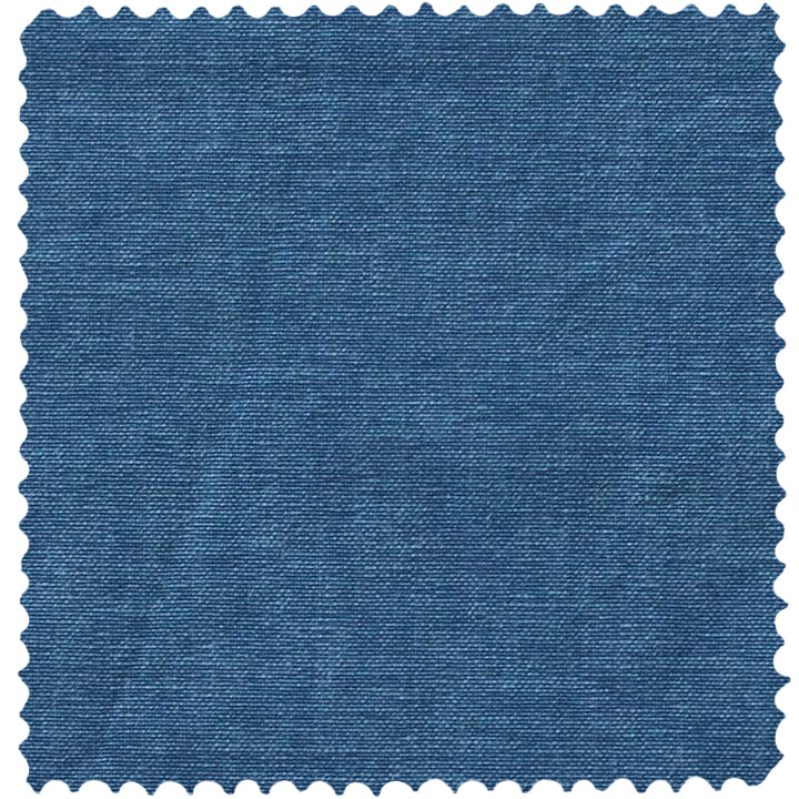 Italian Washed Cotton Indigo