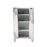 Dollhouse Furniture: White Kaine Cabinet