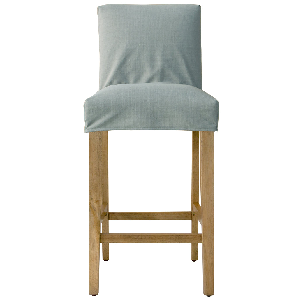 Groovy Shabby Chic Furniture Swallow Slipcover Bar Stool More Colors Machost Co Dining Chair Design Ideas Machostcouk