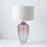Ombre Rose Ripple Lamp