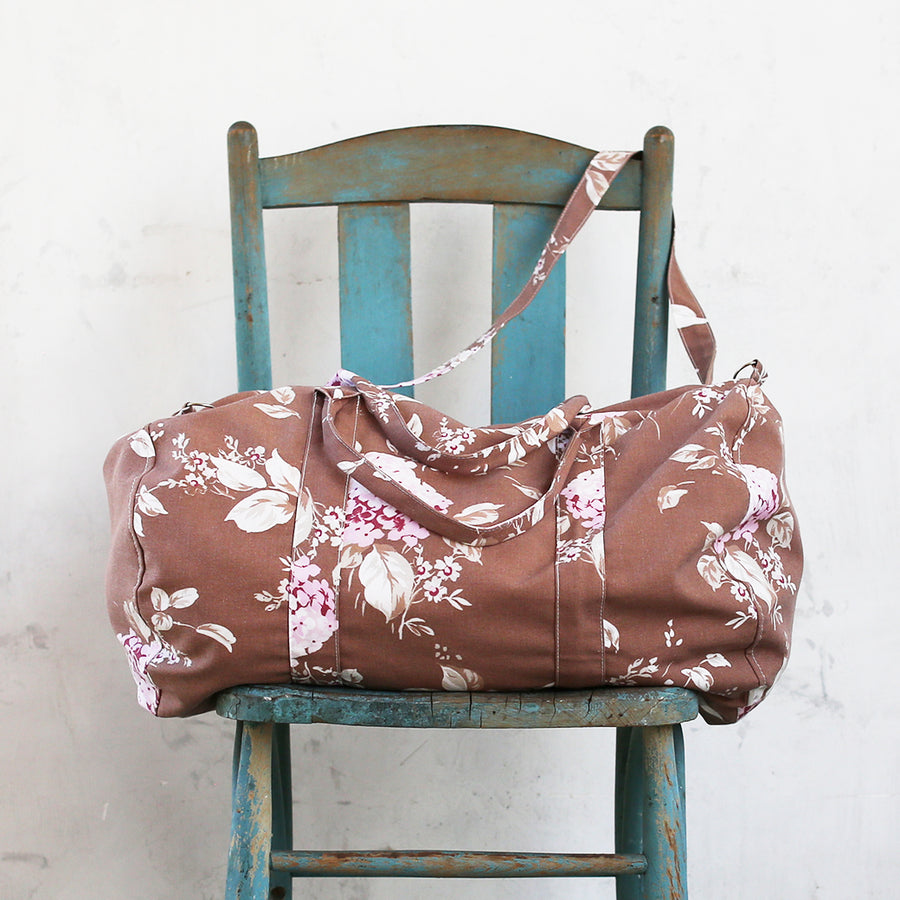 20% OFF Mocha Bloom Weekender Bag